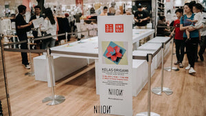 Origami Class in Collaboration with UNIQLO