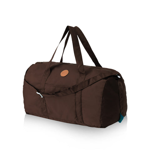 DUFFLE DARK BROWN
