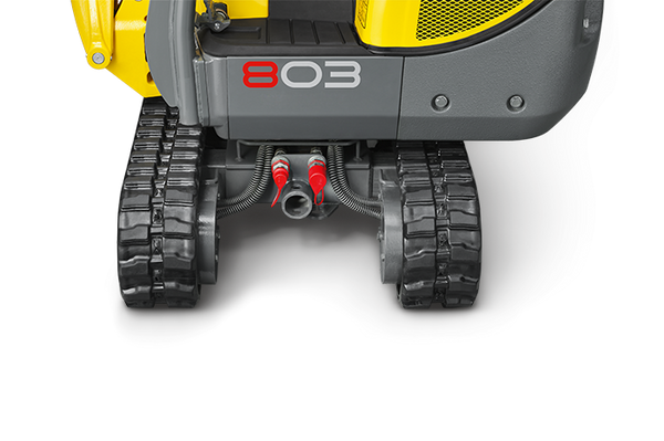 803 dual power - 1 excavator, 2 drives