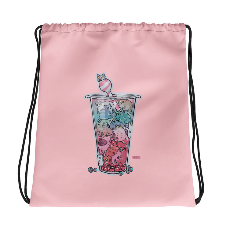Fridsiee - Bubble Tea Kittens Bag