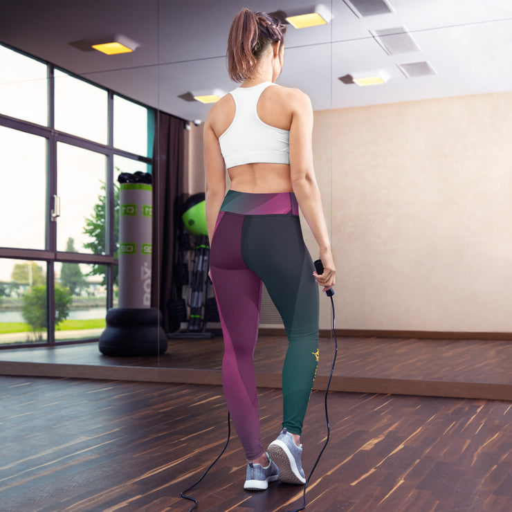 Dark Velvet Valkyrie Yoga Leggings