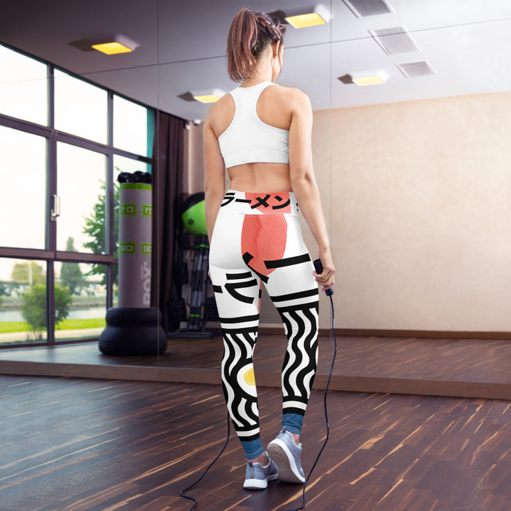 Ramen noodles Yoga Leggings
