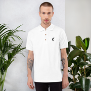 KontagiousTV - White Polo Shirt