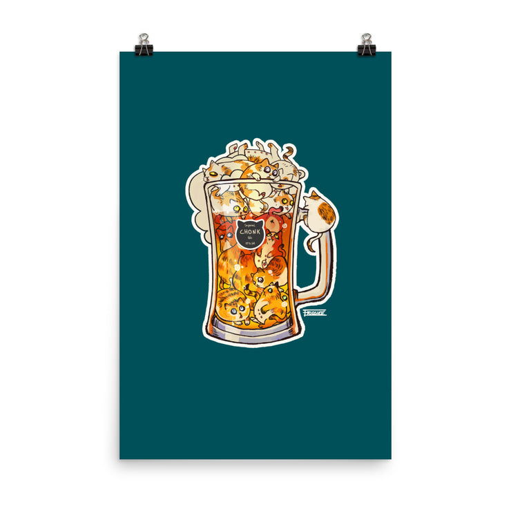 Imperial Chonk Ale | Premium Luster Poster 24x36
