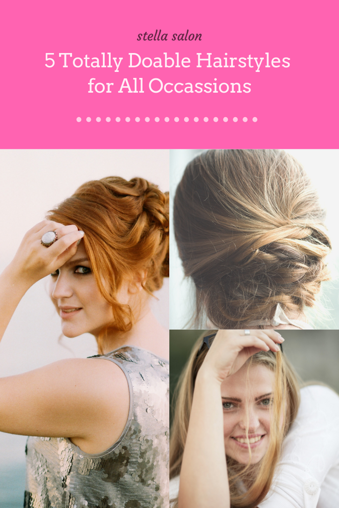 5 Totally Doable Hairstyles For All Occasions