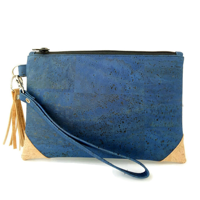 Perfect pouch blue denim/natural