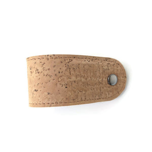 Cork leather napkin rings