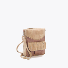 Load image into Gallery viewer, Studded cork backpack, warm natural