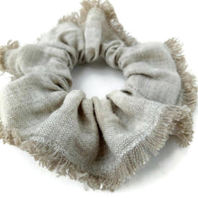 Load image into Gallery viewer, Linen scrunchie