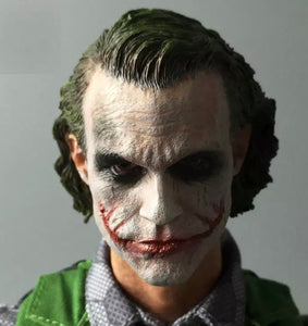 1/6 The Joker Head Sculpt with Heavy Makeup