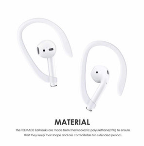 Compatible for Wireless AirPods EarHooks Ergonomic Design
