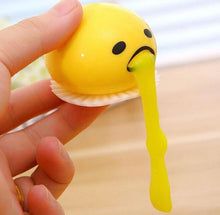 Load image into Gallery viewer, PUKING EGG YOLK STRESS BALL WITH YELLOW GOOP