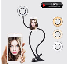 Load image into Gallery viewer, FLEXIBLE SELFIE PHONE RING LIGHT