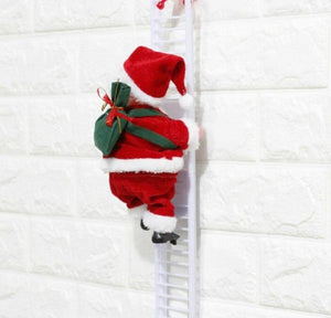 Electric Climbing Ladder Santa