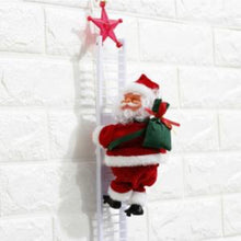 Load image into Gallery viewer, Electric Climbing Ladder Santa