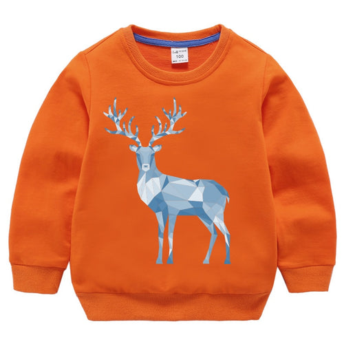 Deer Pattern Unisex Sweatshirt