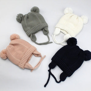 Bonnet Enfant Kids Winter Beanie Hats