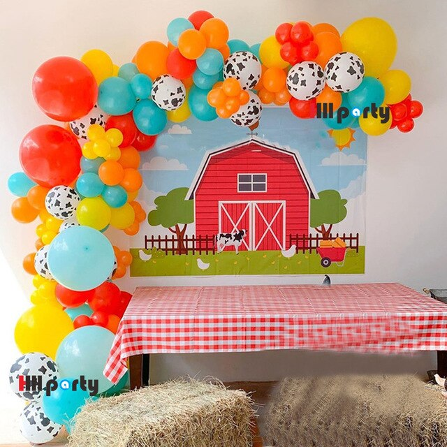 Farm Kids Birthday Party Decor-TotstoKids
