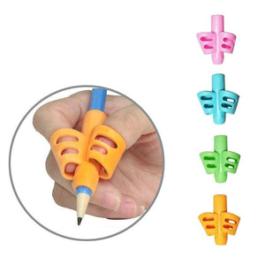 Kids Silicone Learn Writing Tool Pen Holder