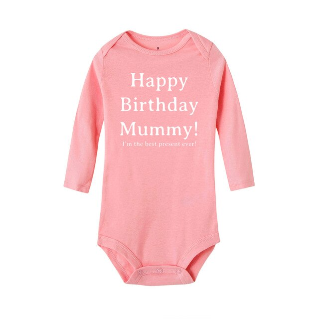 Happy Birthday Mummy Baby's Bodysuit