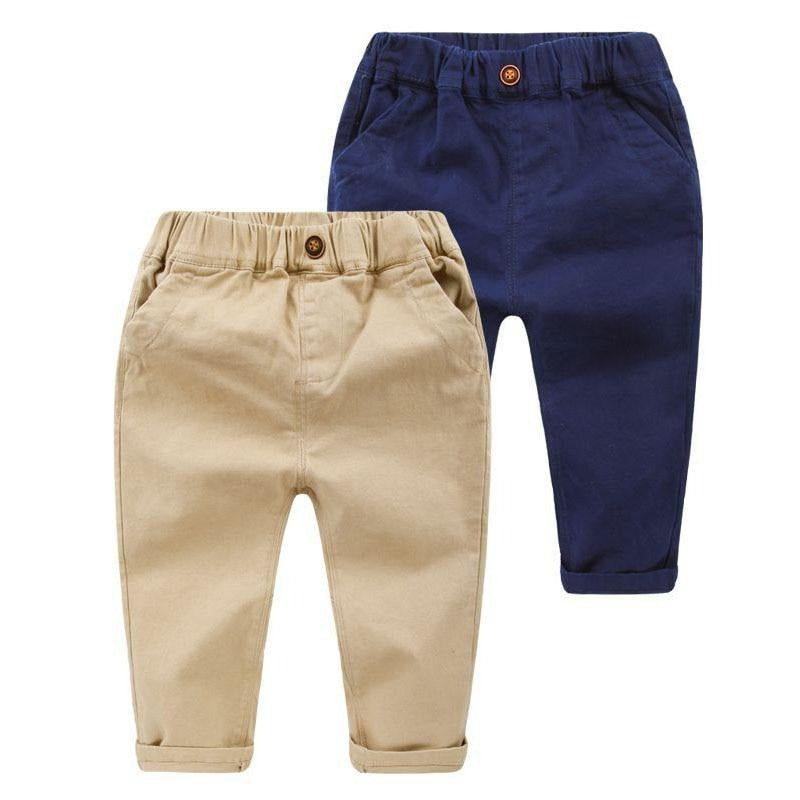 Slim Pencil Toddler Boys Casual Trousers