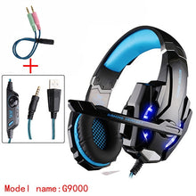 Load image into Gallery viewer, KOTION EACH Earphone Gaming Headphones With Microphone Stereo Headset Gamer Headphone  For Computer Earphones Big Gaming Headset