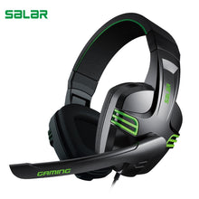 Load image into Gallery viewer, Salar KX101 3.5mm Wired Earphone Gaming Headset PC Gamer Stereo Headphone with Microphone for Computer