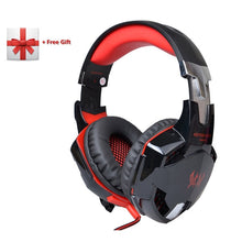 Load image into Gallery viewer, KOTION EACH G2000 G9000 Gaming Headphones Gamer Earphone Stereo Deep Bass Wired Headset with Mic LED Light for PC PS4 X-BOX