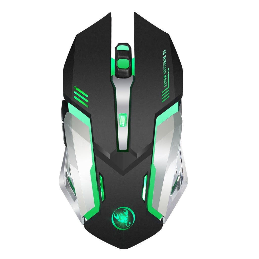 OMESHIN Backlight Gaming Keybord Wired Keyboard And Wireless Mouse Set For Gamer With Ergonomic Multicolor Breathing Light 118A