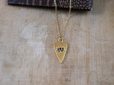Heart wide open necklace