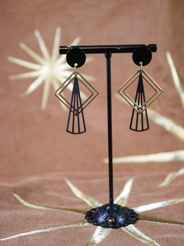 Art deco ornament earrings (Limited edition)