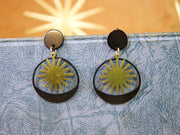 Art deco sunrise earrings (Limited edition)