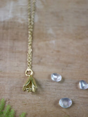 Small bell flower necklace