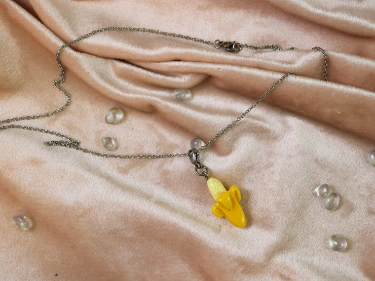 Yellow moon charm mix and match