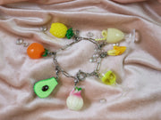 Wine glass charm mix and match