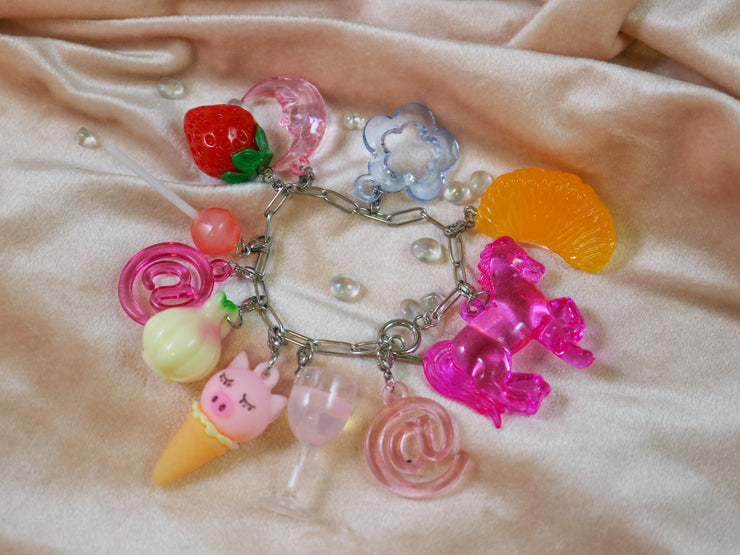 Pink moon charm mix and match