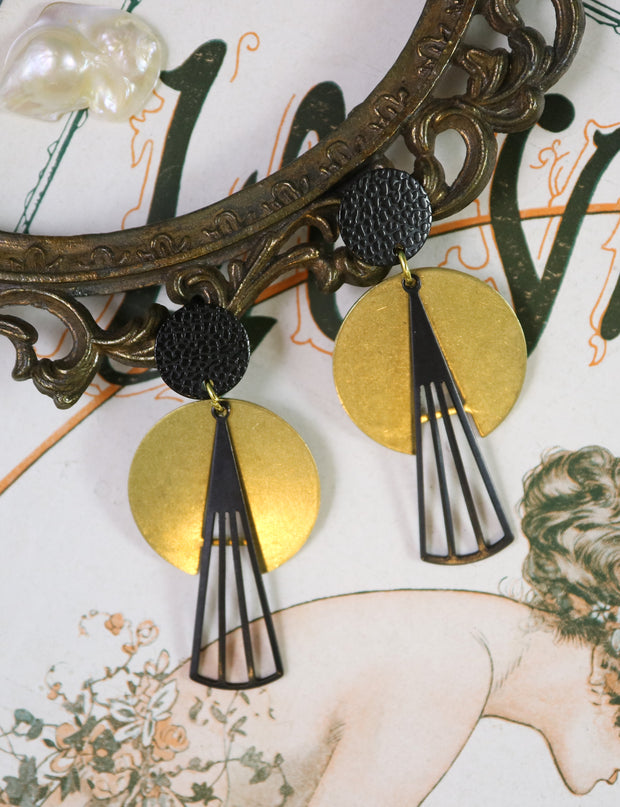 Scarab deco earrings (Limited edition)