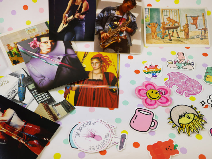 LARGE Snail mail box set 90´s style!
