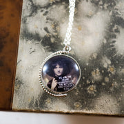 We are the grand daughters/Moon turnable necklace