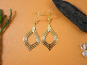 Golden honeypot earrings