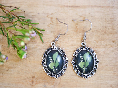Delany lily of the valley earrings