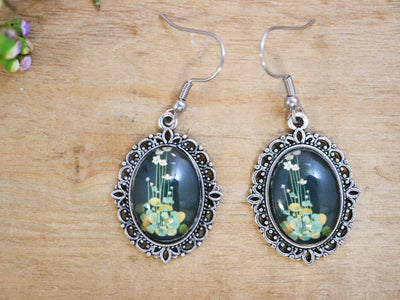 Delany grass of parnassus earrings
