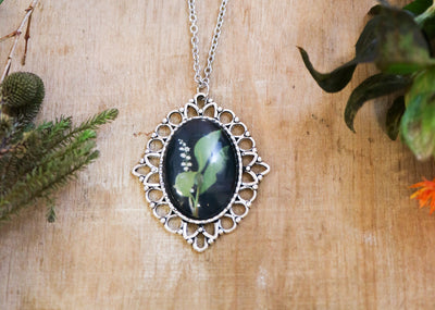 Delany lily of the valley necklace