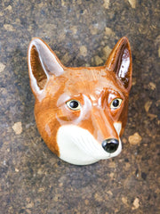 Small fox wallvase