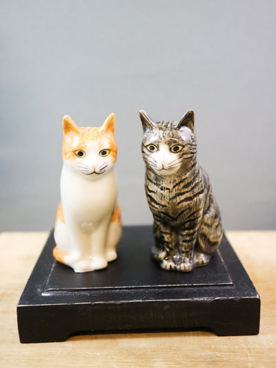 Patience & Squash cat salt and pepper shakers