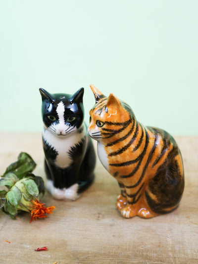 Reuben & Sparky cat salt and pepper shakers
