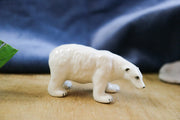 Small standing polar bear figurine