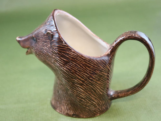 Small hedgehog jug