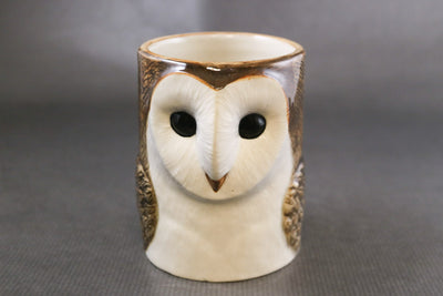 Barn owl pot