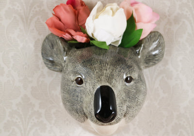 Big koala wallvase